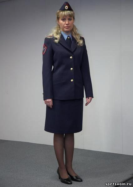 Женская форма полиции россии пошив платья